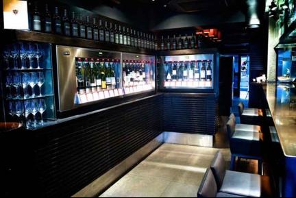wine bar in Ginza