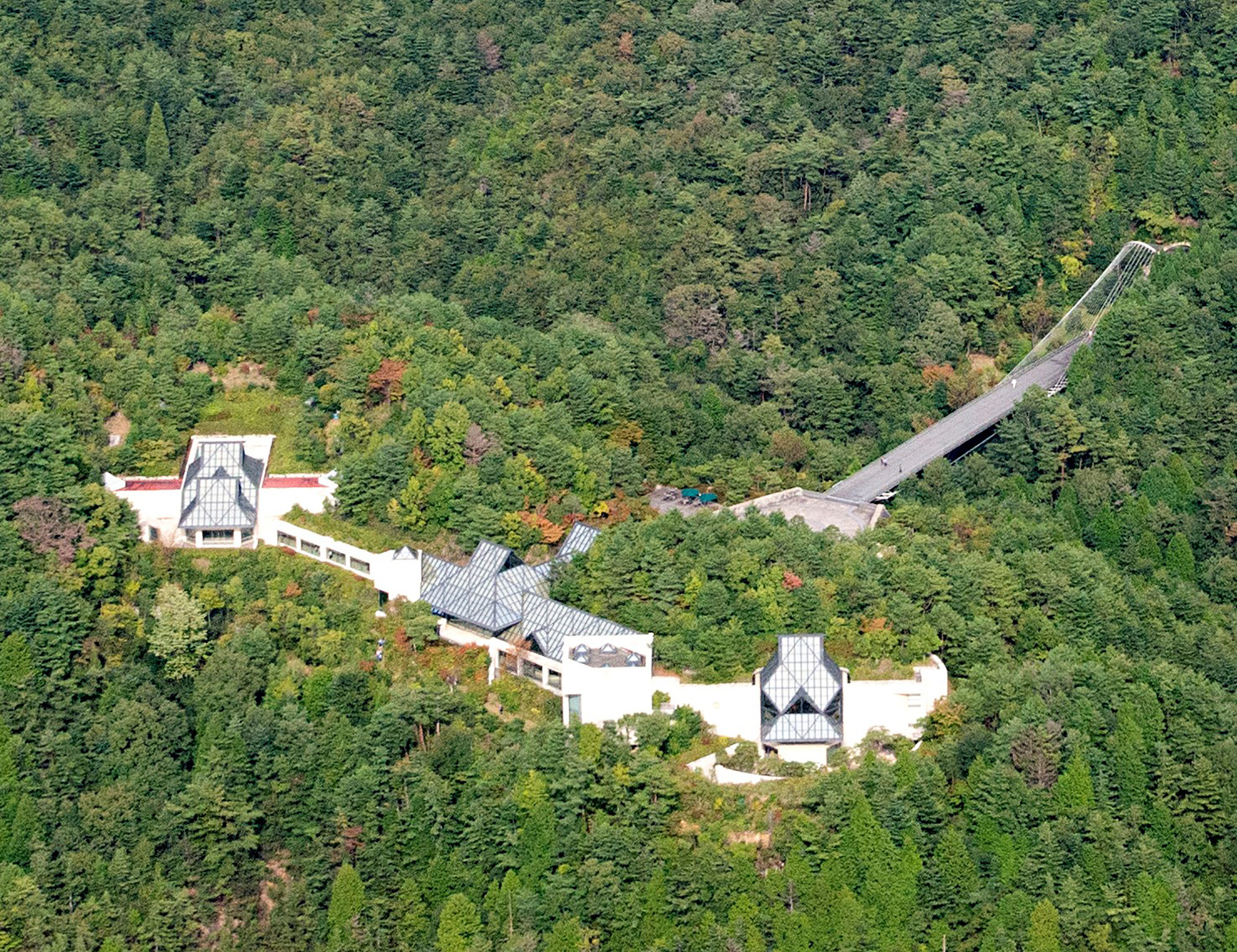 Miho Museum - Valley View