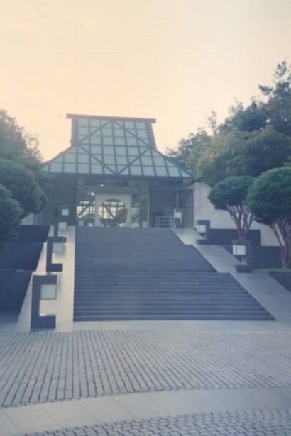 Sundown at The Miho Museum – photo courtesy of Shirley Meerson