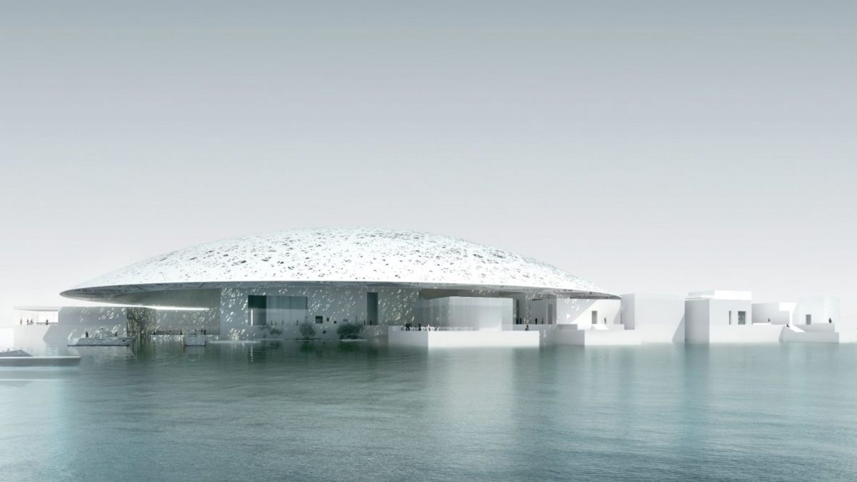 Louvre - arts in Abu Dhabi