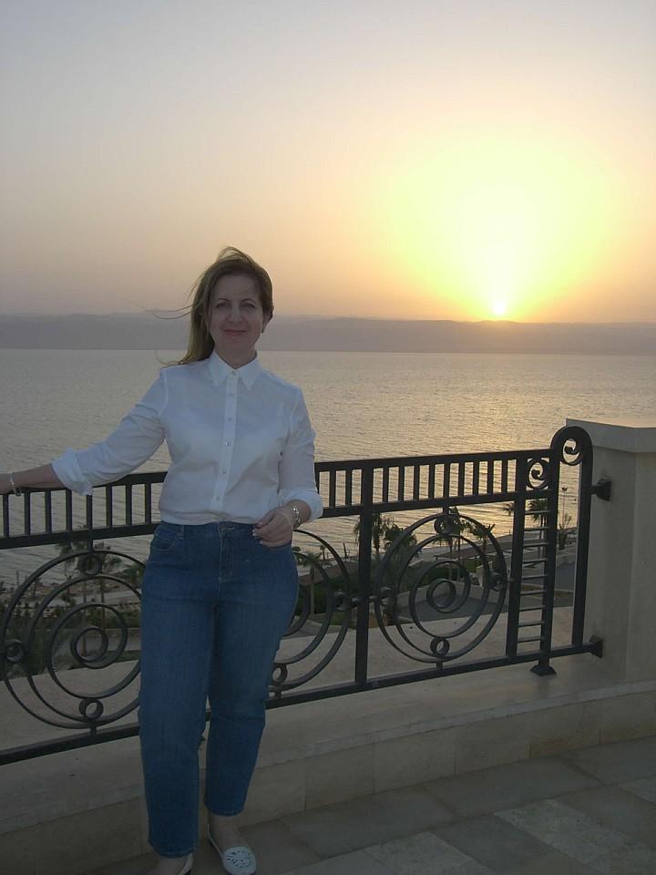 Shirley Meerson, Freelance Writer - Dead Sea, Jordan