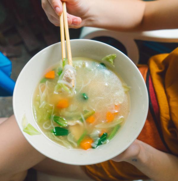 Ginseng Chicken Soup - A Healing Food!